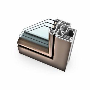 FTT - Internorm KF310 Kunststoff Aluminium ambiente