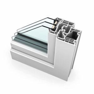FTT - Internorm KF310 Kunststoff home soft