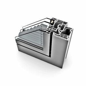 FTT - Internorm KV350 Kunststoff Alu home pure
